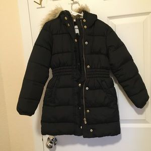 Little girls winter puffer jacket